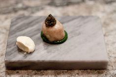 Bone marrow with smoked parsley & smetana & osteria caviare