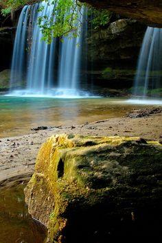 Upper Falls at Caney Creek, Bankhead National Forest, Alabama