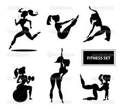 Resultado de imagem para fitness desenho
