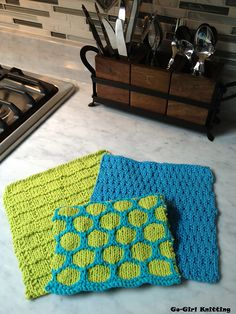 Ravelry: Spring Fling Dish Cloth Trio Pattern pattern by Tammy DeSanto