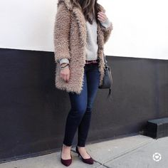 """1,115 Likes, 86 Comments - Blogger • Aliya (@stylebyaliya) on Instagram: """"I just cannot get enough of this Teddy Bear Jacket from @Zara. I picked it up during the Black…"""""""