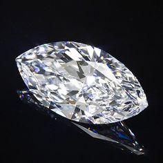 Catawiki Online-Auktionshaus: Diamant im Marquise-Schliff 3,18 ct. D / SI1 mit HRD-Zertifikat