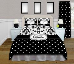 If you are trying to decide an bedding that they can grow into this Black and White Bedding set is great as you can add color with accessories that can easily be changed while keeping the bedding.