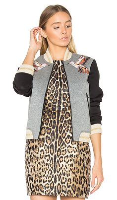 Shop for Red Valentino Bomber Jacket in Grigio Melange & Nero at REVOLVE. Free 2-3 day shipping and returns, 30 day price match guarantee.