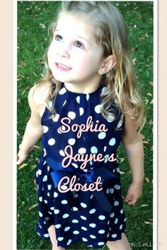 #sophiajaynescloset #polkadots #toddlerdress #kidsclothes #girlsdress