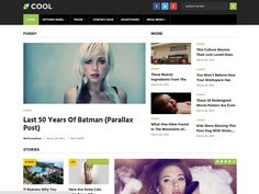 Cool #WordPressTheme comprises of wide range of options to customise the whole appeal of your site. Offer Price: $47 Regular Price $49 #WordPress #Themes #WebDesign #Dating #Viral #Magazine