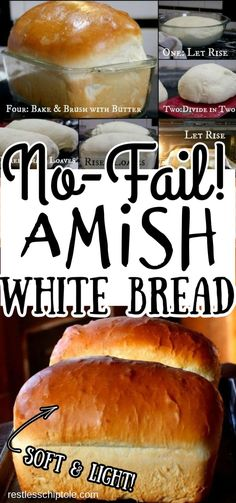 Amish white bread (milk bread) is an easy, tender sandwich loaf that slices easily without crumbling. Its velvety texture and sweet flavor make it a hit with the kids. Freezes well. Beginner recipe that's been pinned over a million times.