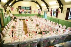 Wedding reception, Humshaugh Village Hall