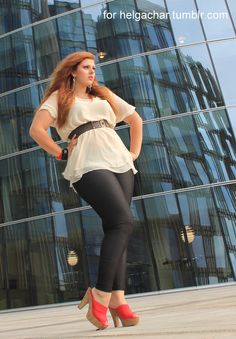 Plus size fashion tips - belt it! Everyone whatever their shape has a perfect belt style