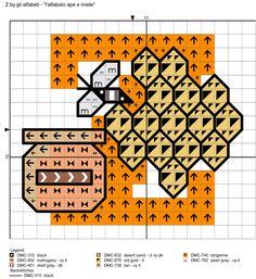 alfabeto ape e miele: Z