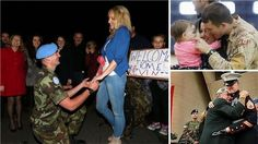 24 Tear-Jerking Photos Of Soldiers Returning Home