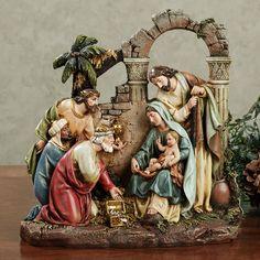 Holy Family Nativity Scene Figurine by Roman