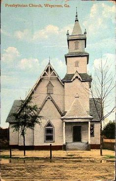 presbyterian church, waycross, ga