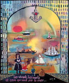 explore peintures de navires