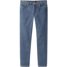 A.P.C. Étroit Cropped Jeans ($235) ❤ liked on Polyvore