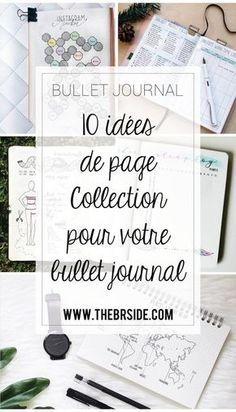 10 idées de page Collection pour votre bullet journal ! Collection Bullet Journal