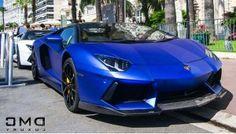 Lamborghini Aventador Dark Blue Wallpaper