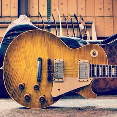 #Gibson '59 Les Paul Reissue VOS in Lemonburst #guitar #lespaul