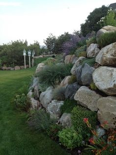 "Welcome to day 2 in Lori's garden In Layton, Utah. Lori says, ""In the foothills of the Wasatch Mountains here it is quite common to see rock walls used as retaining walls. These walls can be a..."
