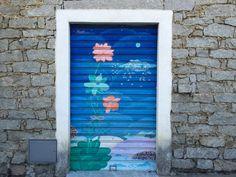 #door#blue#flowers#living#home