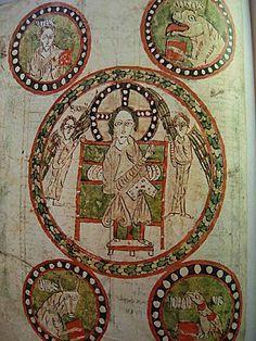 Cet Evangéliaire, peint en Lombardie