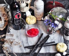 Spooky Zombie Merlot Cocktails for Halloween | ...love Maegan with @eccodomani for #EccoStyleSociety