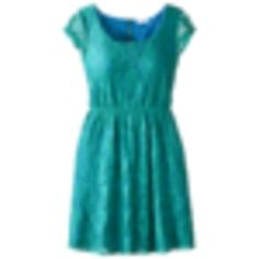 Xhilaration® Juniors Cap Sleeve Lace Dress - Assorted Colors.Opens in a new window