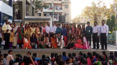 30-3-2016  Celebrating Annual Function with School Students Activity Conducted by Amroli College and PRAGYAN