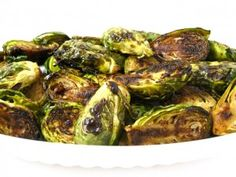 Delicious Balsamic Brussels Sprouts with Weight Watchers Points | Skinny Kitchen