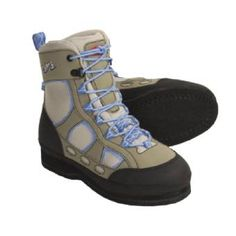 Gals, these are great fly-fishing boots and so comfortable for wading.