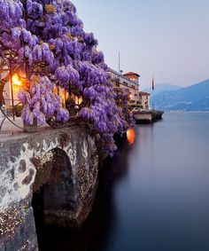 Incredibly Sublime Places to Travel to this Winter Lake Como, Italy.I would love to go see this place one day.Please check out my website thanks. www.photopix.co.nz