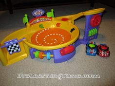 Toy Review: Fisher-Price Lil' Zoomers Spinnin' Sounds Speedway