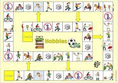 """Ideenreise: Ergänzende Materialien """"hobbies"""""""