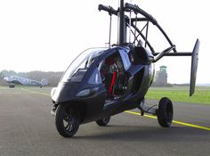 Dutch company PAL-V christened its flying car the, uh, PAL-V ONE -- short for Personal Air and Land Vehicle.