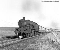 45712 VICTORY 1955 - Shap Wells. Steam Railway, British Rail, Steam Engine, Steam Locomotive, Steam Punk, Glasgow, North West, Liverpool, Diesel