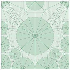 Robert Lang. Crease pattern for an origami scorpion