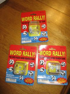 Word Rally only $3 from Lakeshore