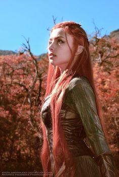 Hope somewhere by AngelaBermudez.deviantart.com #cosplay #Hobbit #Elf