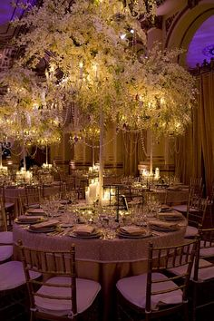 I like how tall these are so people can see through the centerpieces