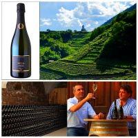 Un Blanc de Blanc della Val di Cembra | #daniele #sala #metodo #classico #trentino #alto #adige #cantina #opera #Alfio #Garzetti #Bruno #Zanotelli #Chardonnay #Pinot #Nero #vinoway #acinus