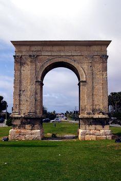 """""""Arco de Bará"""", Roda de Bará, Tarragona, Cataluña, (romà)"""