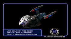 #STARFLEET INTELLIGENCE   USS Equinox NCC-72381 Nova-Class #starship   #StarTrek