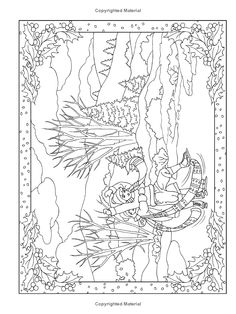 Welcome to Dover Publications Creative Haven Winter Scenes