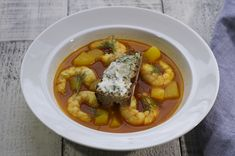 Gochujang - Korean style shrimp bouillabaisse is a quick bouillabaisse adaptation. Eric Ripert, the chef, marries the disparate funky Asian ingredient with a traditionally Marseille fish stew. The result is extraordinary and successful.