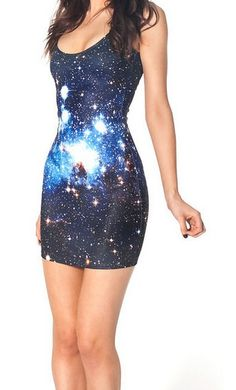 EAST KNITTING fashion BL-069 2014 Women summer new Vest tops GALAXY BLUE DRESSES top sale free shipping