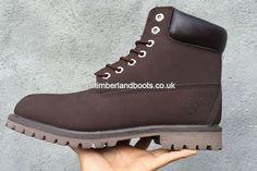 2017 New Women's 6-Inch Premium Waterproof Boots Brown Black Outlet UK £72.00
