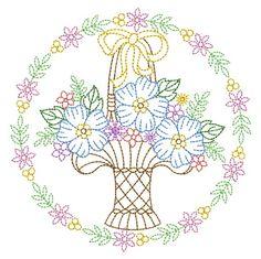 Vintage Embroidery, Custom Embroidery, Embroidery Thread, Machine Embroidery Designs, Embroidery Patterns, Color Me Beautiful, Applique Quilts, Vintage Floral, Tea Towels
