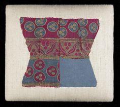 An Imperial Ottoman cintamani silk and metal thread brocade Fragment (kemha) Bursa, Turkey, second half of the 16th Century