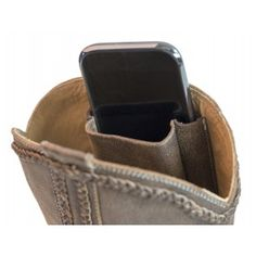 Purse n' Boots Two Step. Very cute boot with a secret pocket inside to hold a cellphone, I.D., and more. WANT!