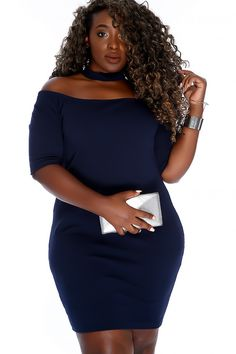 Look Sexy out to your next event in this dress perfect for such an occasion! It features; mock neck, off the shoulder, quarter sleeve, zip accent back closure, textured material and followed by a fitted wear. 95% Polyester 5% Spandex